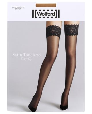 Strümpfe Satin Touch 20 Stay-Up WOLFORD