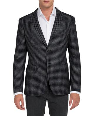 Tartan wool-blended blazer TONELLO