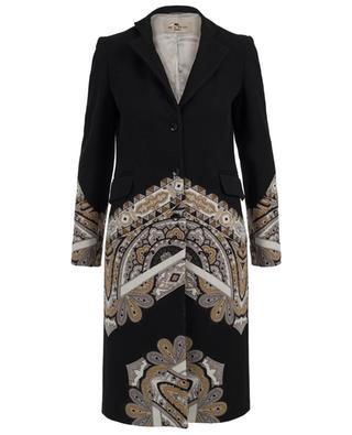 Mantel aus Wollmix ETRO