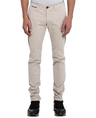 Pantalon chino en coton ELEVENTY