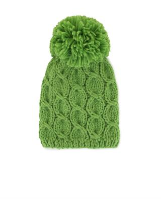 Bonnet en laine avec pompon GREVI
