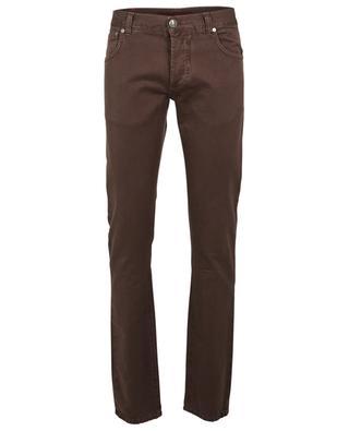Cotton slim fit jeans ISAIA
