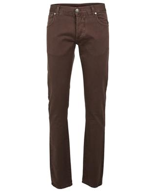 Cotton slim fit jeans ISAIA