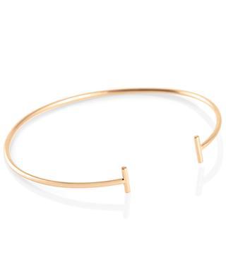 Bracelet en or rose Gold Strip Bangle GINETTE NY