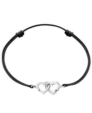 Bracelet sur cordon Double Coeurs DINH VAN