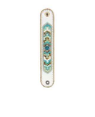 Bracelet en cuir et perles BUBA