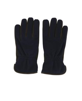 Handschuhe aus Wildleder und Kaschmir PIERO RESTELLI