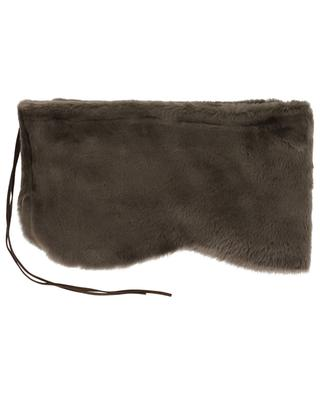 Shearling scarf LEA CLEMENT