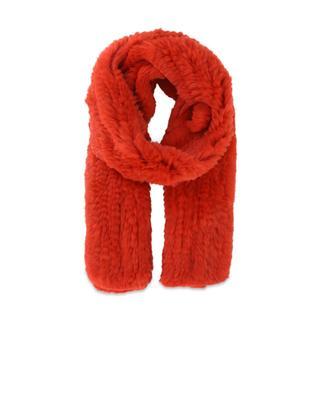 Rabbit fur scarf YVES SALOMON