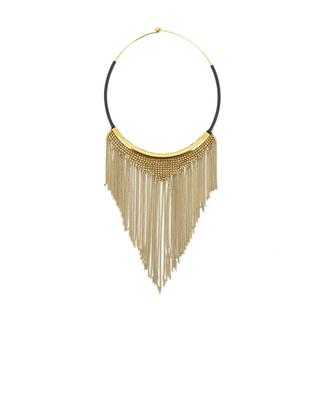 Necklace with gold metal chains FIONA PAXTON