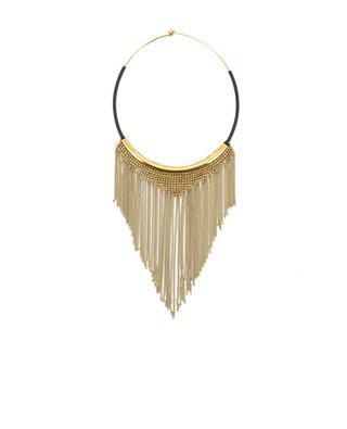Halskette mit Ketten aus Metall in Goldoptik FIONA PAXTON