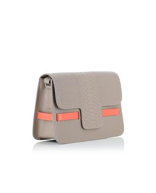 Leather shoulder bag LILI RADU