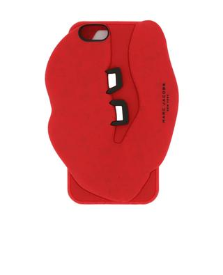 Coque iPhone en silicone décorée bouche MARC BY MARC JACOBS