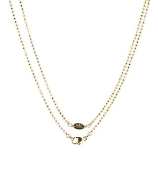 Sautoir en métal doré avec perles GAS BIJOUX
