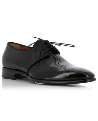 Patent leather derby shoes SANTONI