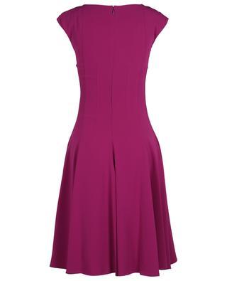 Sleeveless midi crepe dress TALBOT RUNHOF