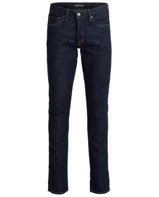 Slim-Fit Jeans aus dunklem Denim TOM FORD