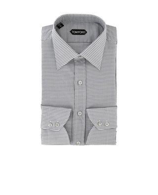 Checked cotton shirt TOM FORD