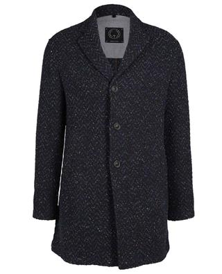 Dreiviertellanger Mantel mit Chevron-Motiv TONELLO