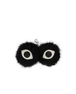 Eyes faux-fur keychain STELLA MCCARTNEY