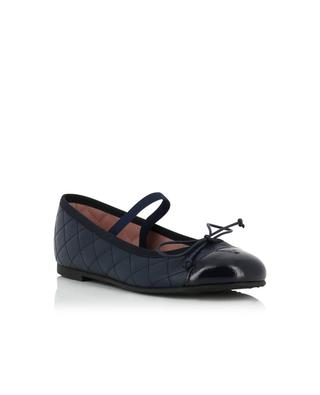 Quilted leather ballet flats PRETTY BALLERINAS