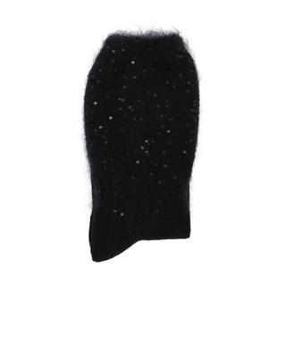 Sequined viscose and wool socks ALTO