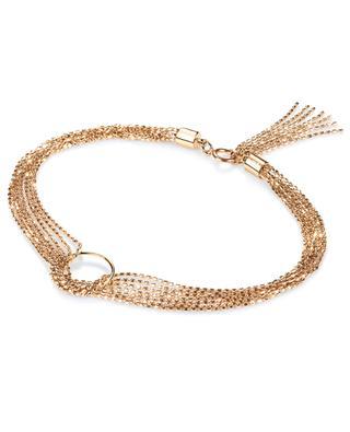 Pink gold bracelet GINETTE NY