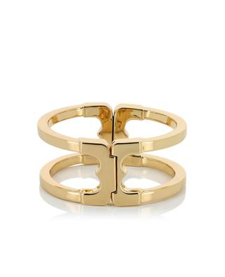 Gemini Link gold-plated brass ring TORY BURCH