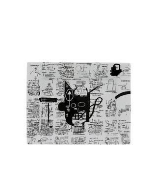 Basquiat porcelain tray LIGNE BLANCHE