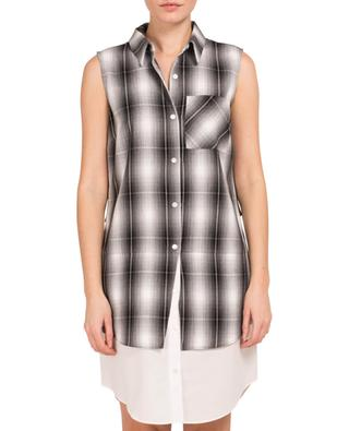 Robe chemise à carreaux 10 CROSBY