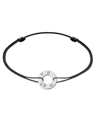 Bracelet sur corde Cible Diamant DINH VAN