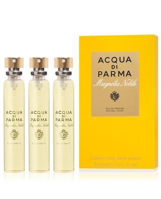 Magnolia Nobile Leather purse spray refill 3 x 20 ml ACQUA DI PARMA