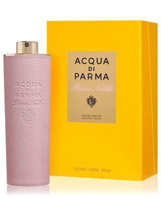 Rosa Nobile Leather purse spray 20 ml ACQUA DI PARMA