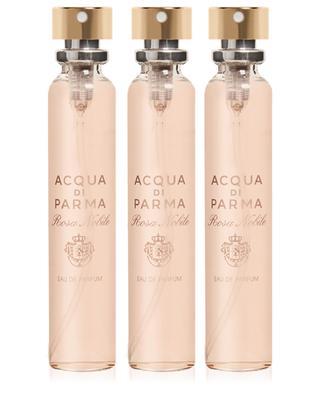 Rosa Nobile Leather purse spray refills 3 x 20 ml ACQUA DI PARMA