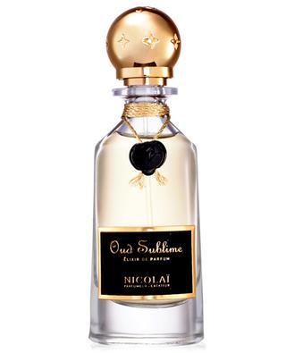 Oud Sublime élixir de parfum NICOLAI