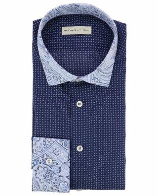 Printed cotton shirt ETRO