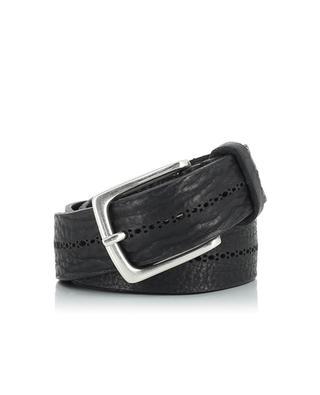 Leather belt SERGIO GAVAZZENI