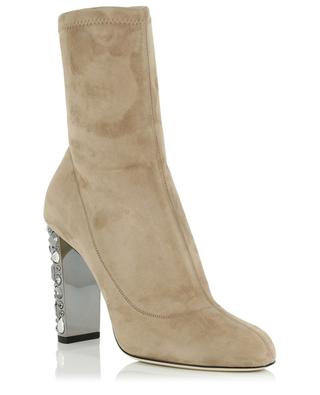 Stiefeletten aus Stretch-Wildleder Maine JIMMY CHOO