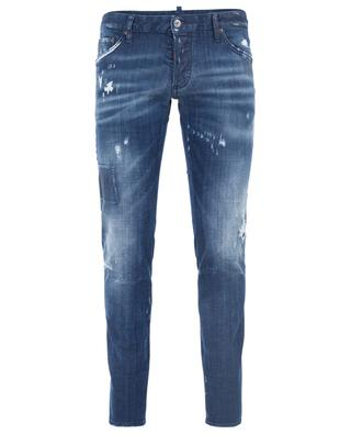 Distressed Slim-Fit Jeans Clement DSQUARED2