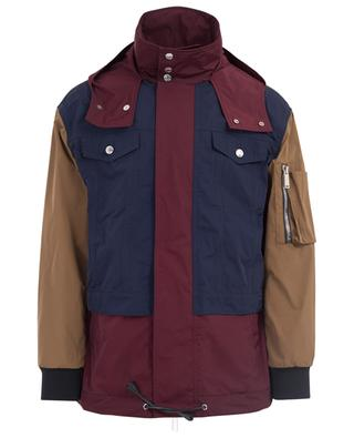 Parka aus Nylon Color Block DSQUARED2