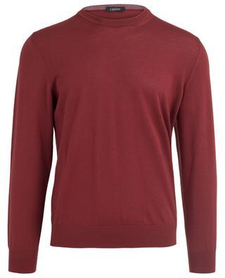 Leichter Pullover aus Wolle Z ZEGNA