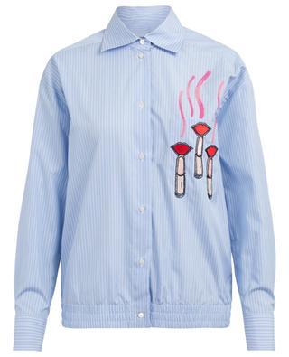Striped cotton shirt VALENTINO