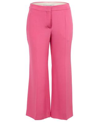 Pantalon large raccourci en soie VALENTINO