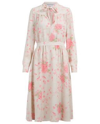 Silk midi dress VALENTINO