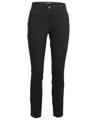 Ros stretchy crepe slim fit trousers CAMBIO