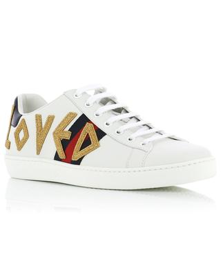 Sneakers aus Leder Ace Loved GUCCI
