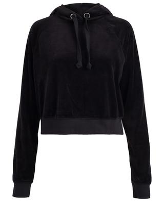 Cordial JCLA cropped velvet sweatshirt JUICY BY JUICY COUTU