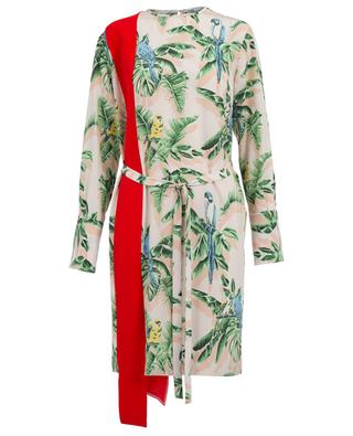 Robe imprimée en soie et viscose mélangée STELLA MCCARTNEY