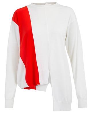 Pullover aus Wolle und Seide Asymmetric STELLA MCCARTNEY