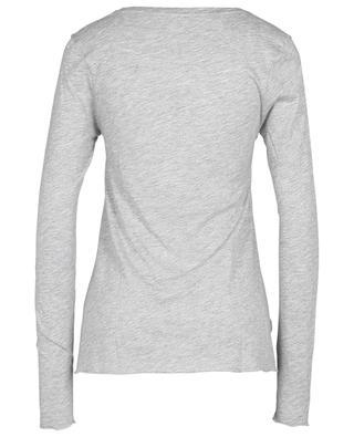 T-shirt à manches longues en viscose et coton Jacksonville AMERICAN VINTAGE